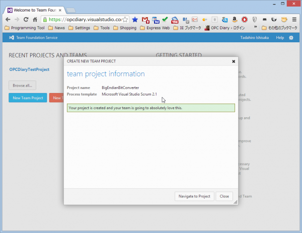 SnapCrab_Welcome to Team Foundation Service - Microsoft Team Foundation Server - Google Chrome_2013-1-31_7-22-49_No-00
