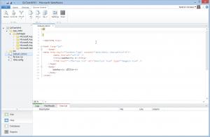SnapCrab_GitTestWM3 - Microsoft WebMatrix_2013-3-22_19-51-42_No-00