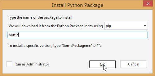 SnapCrab_Install Python Package_2014-5-1_21-5-35_No-00