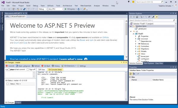 SnapCrab_Five01 - Microsoft Visual Studio_2015-1-31_10-27-21_No-00