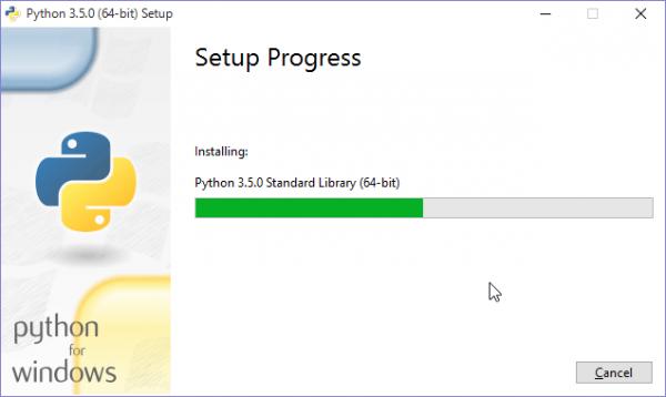 SnapCrab_Python 350 (64-bit) Setup_2015-9-21_10-3-10_No-00
