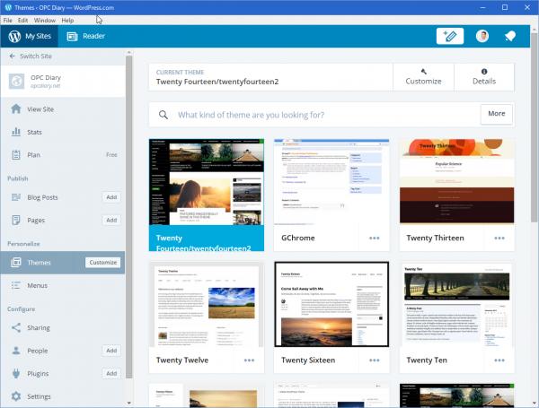 SnapCrab_Themes ‹ OPC Diary — WordPresscom_2015-12-12_14-26-16_No-00