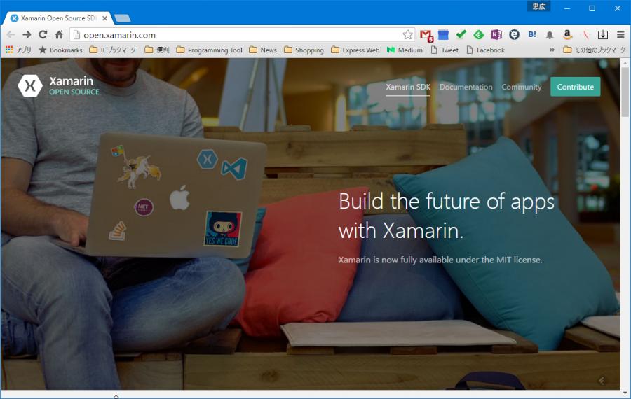 SnapCrab_Xamarin Open Source SDK - Google Chrome_2016-4-27_23-25-15_No-00